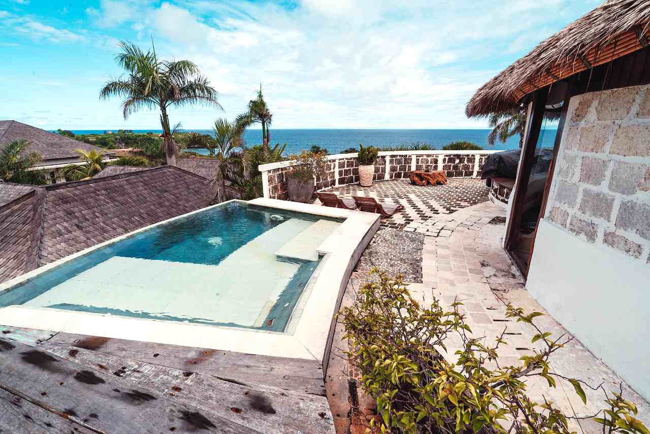 Balangan Private Villa - Outdoor Jacuzzi