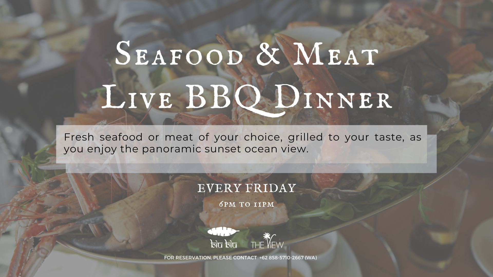 Biu Biu Seafood and & Meat BBQ