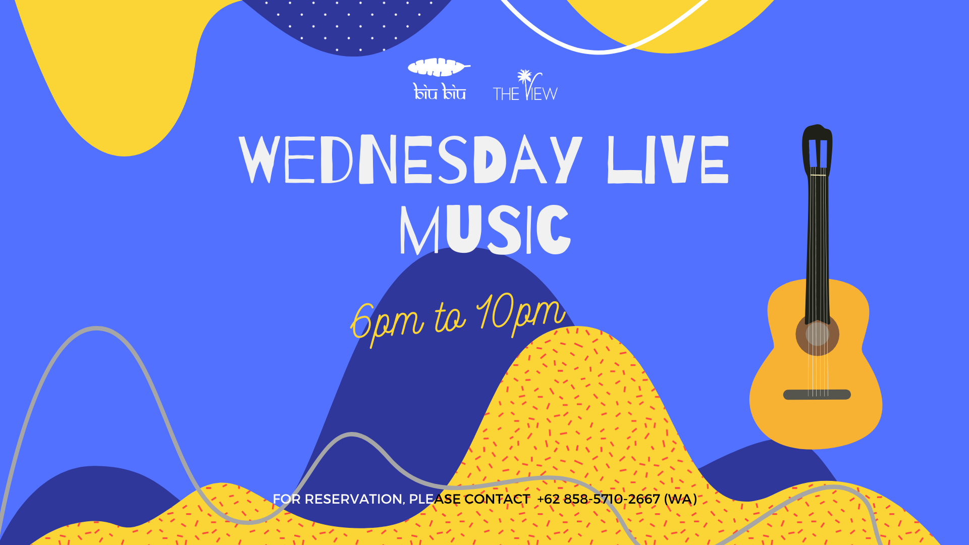 Wednesday live music